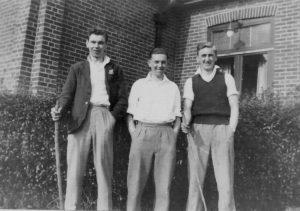 Guppy, Norman Pressy, Ossie Chapman in 1940