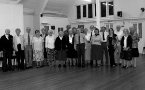 Some of the tea dance group in 2005